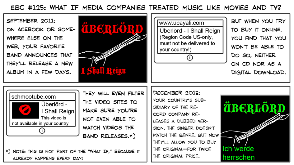 What If Media Companies Treated Music Like Movies And TV?