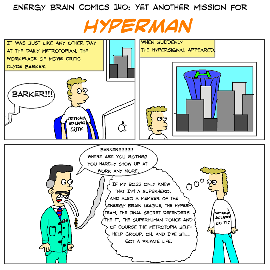 Yet Another Mission for Hyperman