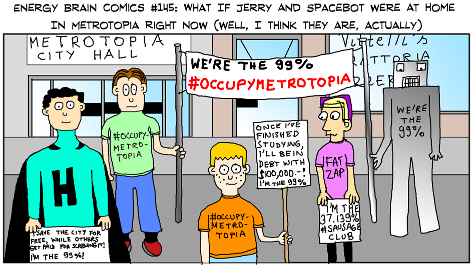 What If Jerry And Spacebot Were At Home In Metrotopia Right Now? (well, I think they are, actually)