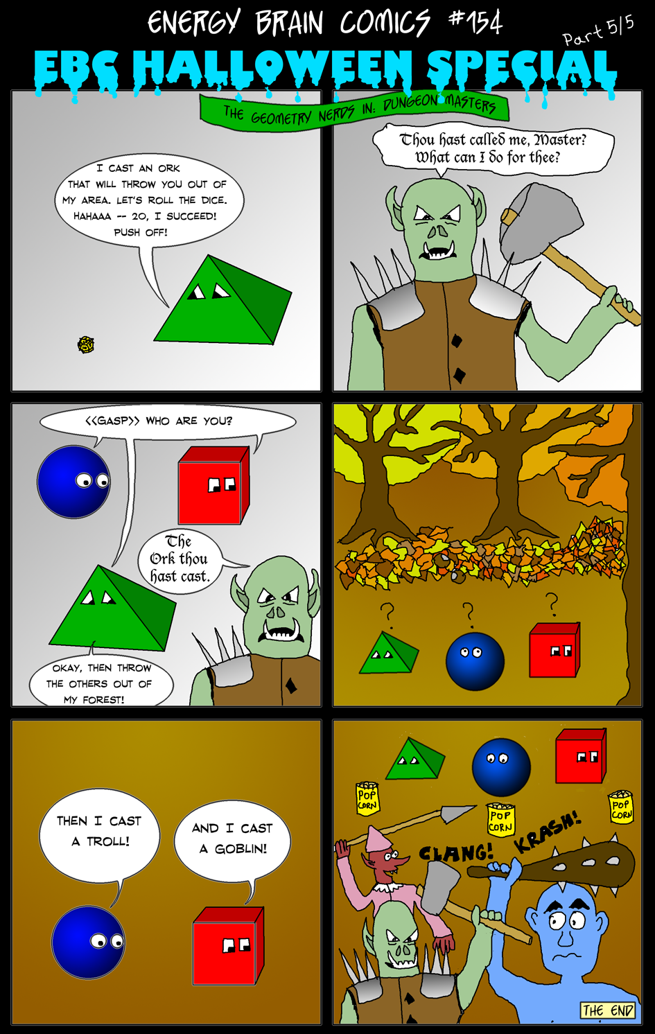 Halloween Special, Part 5/5 -- The Geometry Nerds in: Dungeon Masters