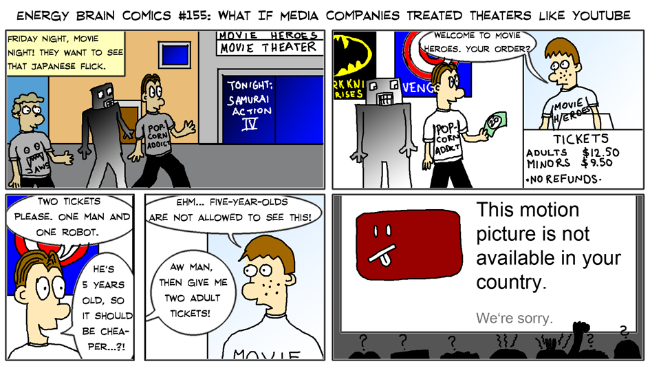 What If Media Companies Treated Theaters Like YouTube