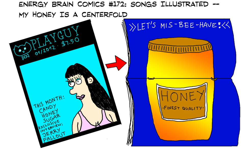Songs Illustrated: My Honey Is A Centerfold