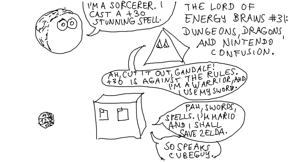 Dungeons, Dragons, And Nintendo Confusion