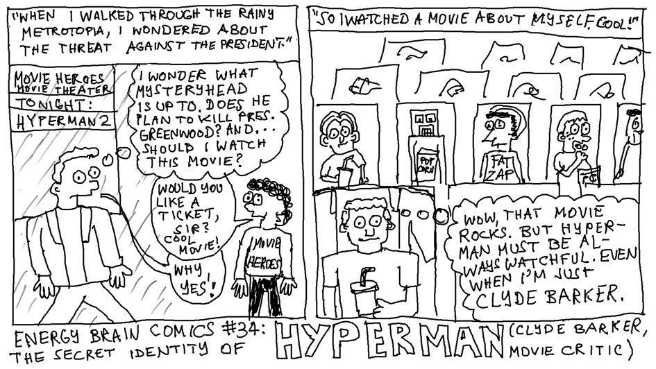 The Secret Identity Of Hyperman