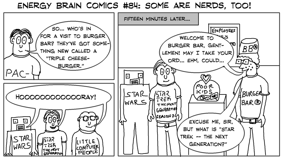 Some Of Them Are Nerds, Too