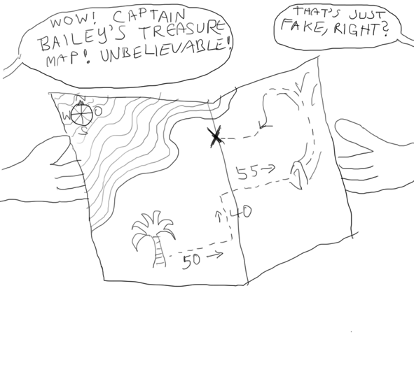 Captain Bailey's Treasure Map