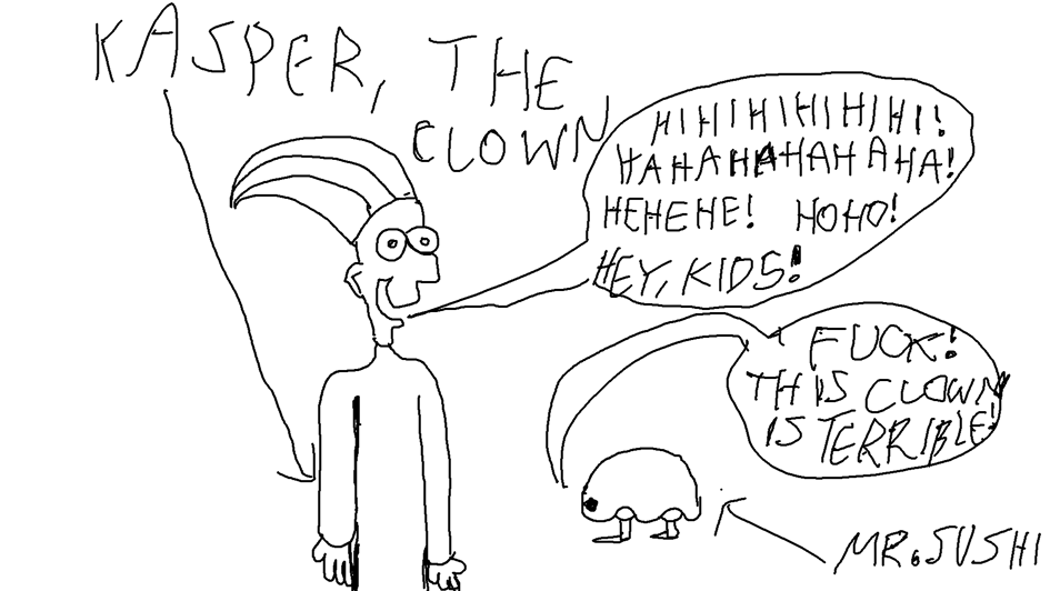 Kasper the Clown