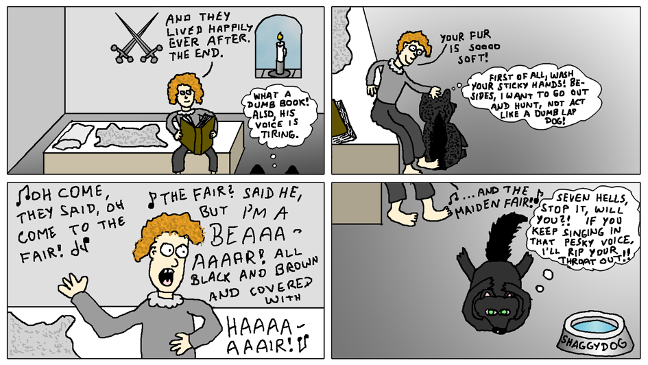 Rickon and Shaggydog (What the Direwolves are Thinking!)