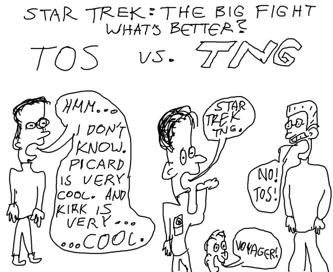 Star Trek TOS vs. TNG