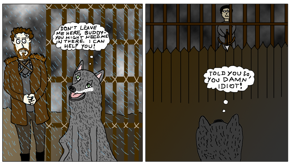 Robb and Grey Wind (What the Direwolves are Thinking!)